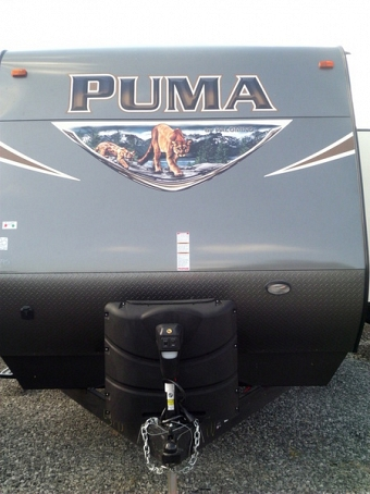2017 Forest River Puma Travel Trailer 32 FBIS